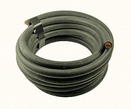 6 Ga. Black Welding Cable - (price per 10 feet) Crimp Supply