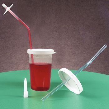 Devine Medical Accessory - Optional Mouthpiece, Pkg. of 6 (For Sip-Tip Drinking Cup ) by Devine Medical