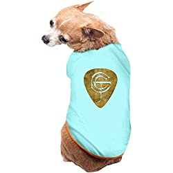 Pets Gary Clark Jr. Gold Pick T-shirts SkyBlue