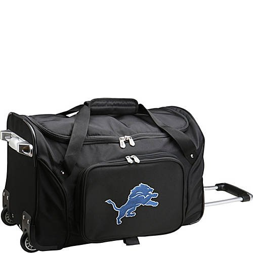 NFL 22'' Rolling Duffel Detroit Lions by TableTop King