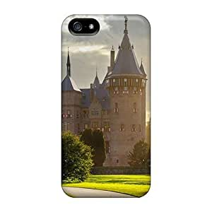 New Starting Fashion Protective Magic Castle Case Cover For Iphone 5/5s