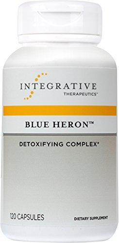 Integrative Therapeutics - Blue Heron - Detoxifying Complex with Dietary Fiber, Herbs, and Probiotics - 120 Capsules by Integrative Therapeutics