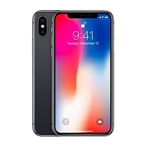 Apple iPhone X with FaceTime 64GB 4G LTE - Space Grey