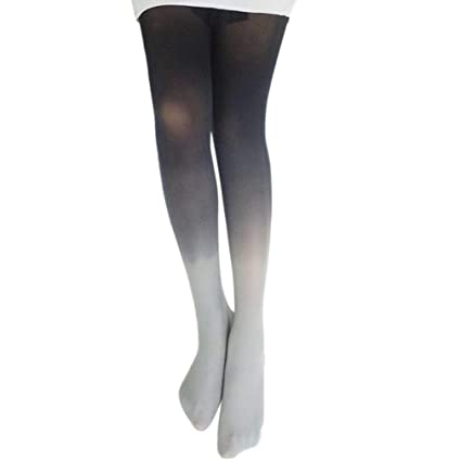 Women Sexy Hose Colorful Slim Tube Dresses Tights High Waist Thigh High Fishnet Stockings Pantyhose