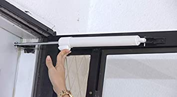 Heavy Duty Door Closer System Black Touch n Hold Smooth