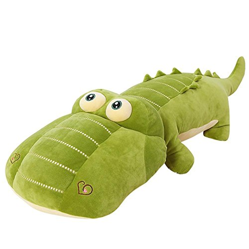 VSFNDB Crocodile Plush Toy 26 Inch Large Jumbo Alligator Stu