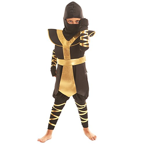 Anime Ninja Girl Costume (Disiao Boy's Ninja Role Play Costume Set Halloween Suits Cosplay (l))