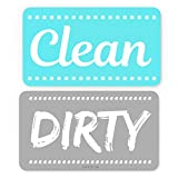 ENVIX Dishwasher Magnet Clean Dirty Sign Double