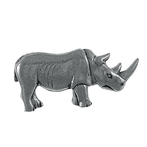Jim Clift Design Rhinoceros Lapel Pin - 10 Count by Jim Clift Design