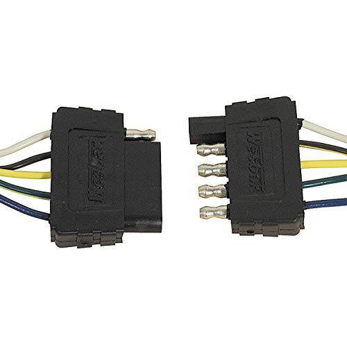 - Wesbar 707255 Double Ended Wire Harness Extension 5-Way, 2-Feet