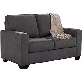 Ashley Furniture Signature Design   Zeb Sleeper Sofa   Contemporary Style  Couch   Twin Size