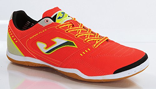Zapatilla Futbol Sala Joma, Super Flex 408 Orange-White