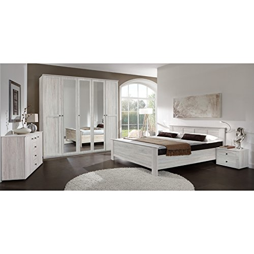 Schlafzimmer Set CHALETO166 Weißeiche