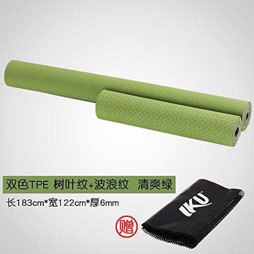 YOOMAT Erweiterung 120cm Doppel TPE Yogamatte