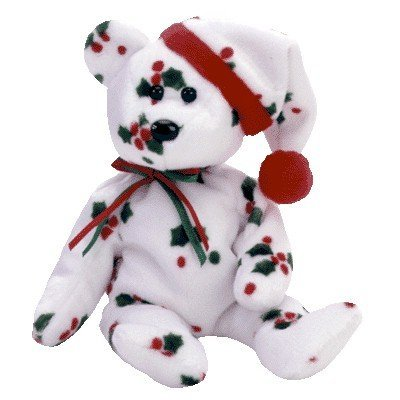 8e91d771c8e Image Unavailable. Image not available for. Color  Ty Beanie Babies - 1998  Holiday Teddy Bear ...