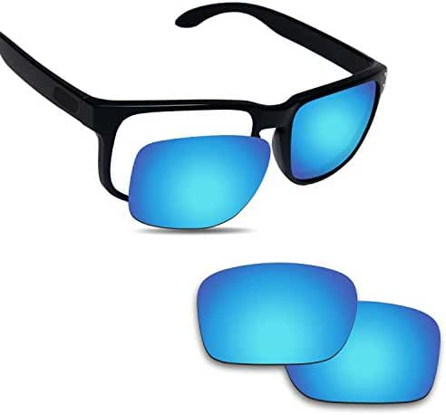 Fiskr Polarized Anti-Saltwater Replacement Lenses for Oakley Holbrook Sunglasses - Various Colors