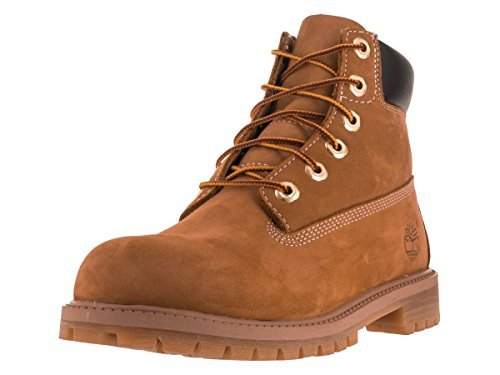 Timberland 6 in Classic Boot, Wheat Nubuck 6 M US Big Kid from Timberland