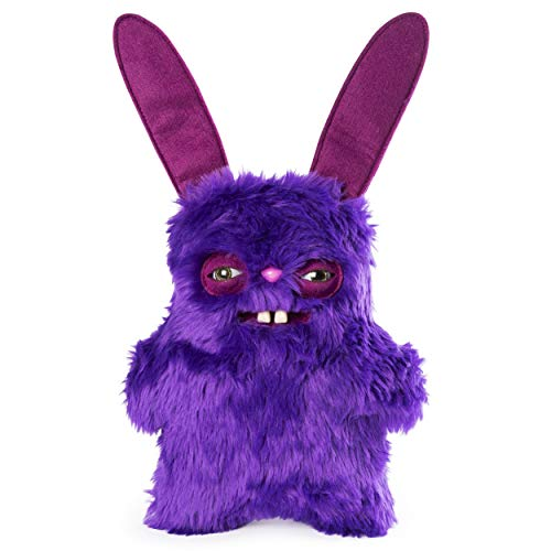 "Rabid Rabbit Fuggler Funny Ugly Monster 9"" Medium Plush Stuffed Animal Purple Fur from Rabid Rabbit"