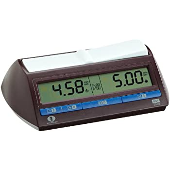 DGT XL Digital Chess Clock - Red