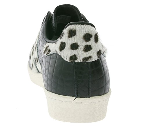 newest 247ca 208c1 Adidas Superstar 80s Animal, core black chalk white gold metallic   Amazon.it  Scarpe e borse
