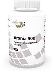 Vita World Aronia 500 mg 120 kapslar apotekstillverkning