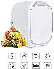 6L Mini Car Freezer Cooler & Warmer Portable, 12V Home Refrigerator Freezer Heater Electric Fridge Travel Refrigerator