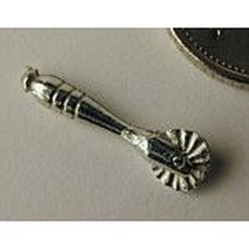 - Phoenix Models Dollhouse Miniature Polished Pewter Pastry Jigger