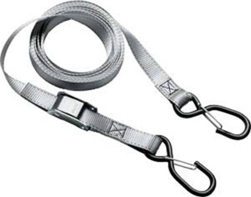 Master Lock 3063DAT 12' Spring Clamp Tie-Down and S Hooks with Clips