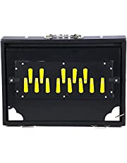 Professional Shruti Box, Black, Long Sustain, 13 Notes, 13 x 9.5 x 3 Inches, Sur Peti Surpeti, Shruthi Box, With Bag