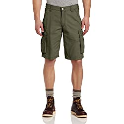 Carhartt Men's Rugged Cargo Short Relaxed Fit,Army Green,42