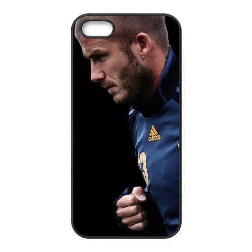 David Beckham 23 coque iPhone 4 4S cellulaire cas coque de téléphone cas téléphone cellulaire noir couvercle EEEXLKNBC24446