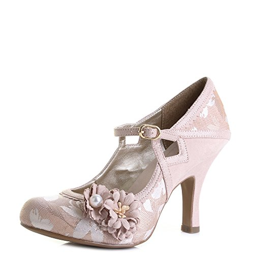 Shoes Ruby Shoo Womens Heels Gold Hi Yasmin Rose 4qPHxqO0w