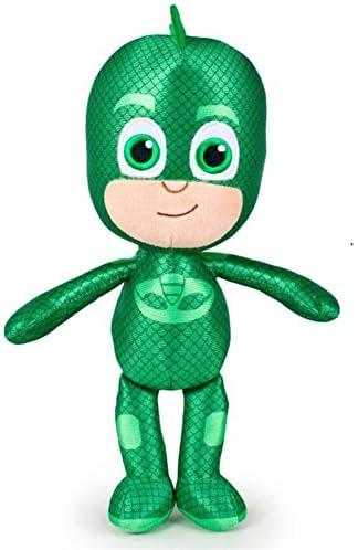 PTS - PJ MASK Gekko Gecko Felpa Gigante XXL 60cm Carácter PJ Masks: Héroes en Pijamas Traje Verde