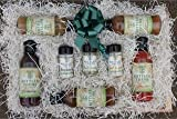 Bottled Thyme Gourmet Finishing Sauce Gift Set - Our Complete Line of Sauces and 3 Gourmet Seasonings.