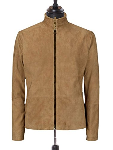 James Bond Costume Ideas Spectre Morocco Brown Suede Leather Outwear Jacket (James Bond Costume Ideas)