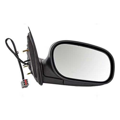 (Passengers Performance Upgrade Power Side View Mirror with Chrome Replacement for 98-08 Ford Crown Victoria Mercury Grand Marquis 6W7Z17682AA AutoAndArt)