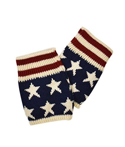 Le Nom Vintage American Flag Scarf (BOOTS TOPPER)