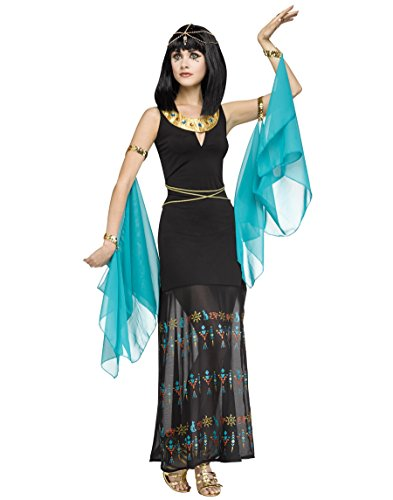Egyptian Queen Plus Adult Costumes (Stylish Hieroglyph Egypitan Queen Womens Costume (Small/Medium 2-8))