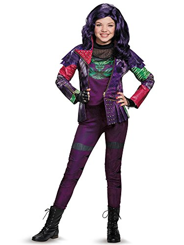 Mal Costume Party City (Mal Prestige Descendants Disney Costume, Large/10-12)