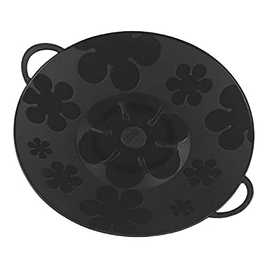 Kuhn Rikon Kochblume Spill Stopper, 11-Inch, Black