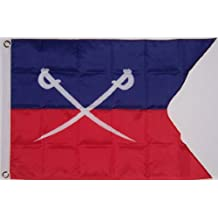 General George Custer Flag 2x3 Foot 7th Cavalry Battle Banner