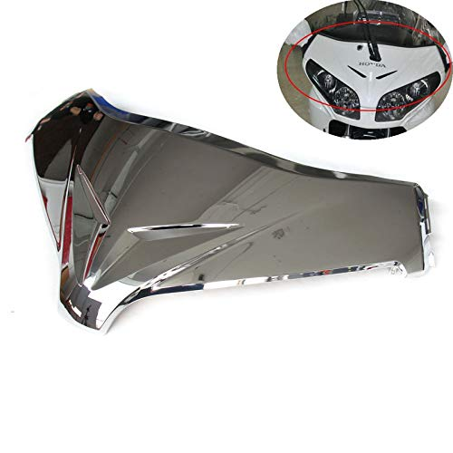 Windshield Chrome Panel (ABS Chrome Front Windshield Panel Accent Fairing For Honda GL 1800 GOLDWING 2012 2013 2014 2015 (Chrome))