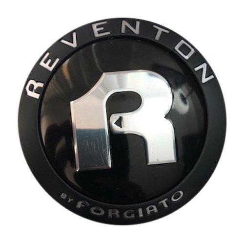 Reventon by Forgiato 433K70-YB001 433K70 USED Black Wheel Center Cap -  Reventon Wheels