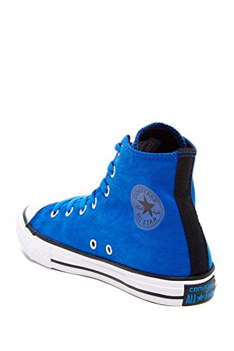 Converse Jungen Boy Sneaker Schuhe Gr. 34 (US2.5) Leder blau blue Chuck Taylor All Star *** CT AS HT LASER BLUE *** 651788C