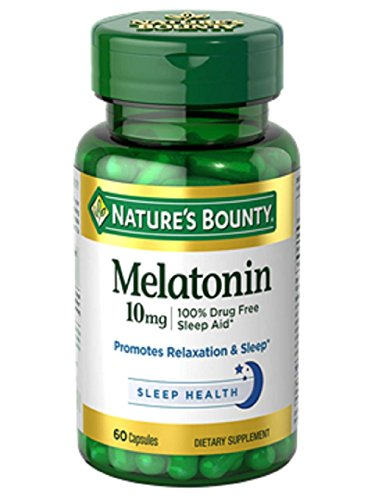Nature's Bounty Melatonin 10mg Capsules