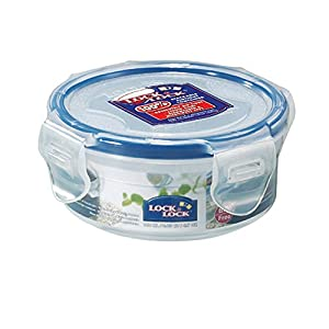 LOCK & LOCK, No BPA, Water Tight, Food Container, Snack Box, 0.6-cup, 4.6-oz, HPL934