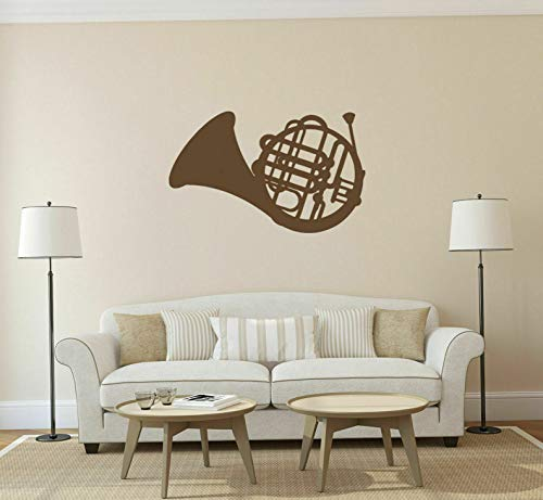 Waldenn ik161 Wall Decal Sticker Decor Music Jazz Tube Trumpet Interior Bed | Model DCR - 1199