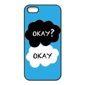 COMEON diy Okay Okay Hard Back Case for Iphone 5 5g 5s