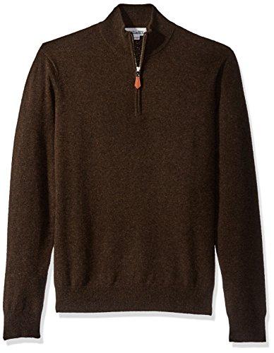 Quarter Zip Cashmere Sweater - 6