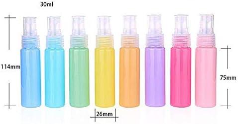 Reiseflasche - U4V0VROPB0 Kunststoff 10 St/ück 30 ml tragbare Kosmetik-Fl/üssigkeitsbeh/älter Blau blau feiner Nebel Artily Spr/ühflaschen